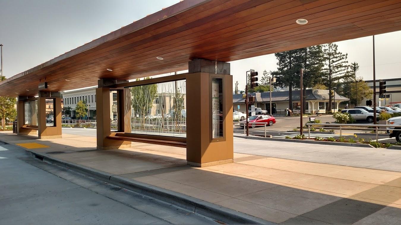 Redwood And Grant Transit Improvement Project Marin Transit