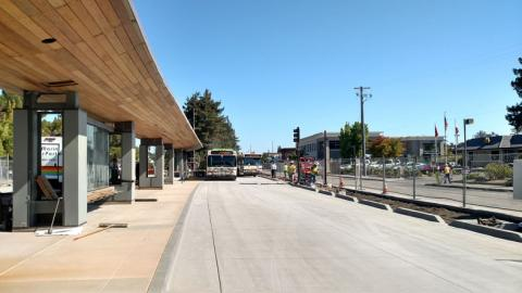 New Redwood & Grant Transit Facility
